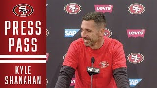 Kyle Shanahan Describes What Makes Lamar Jackson So Difficult to Defend | 49ers