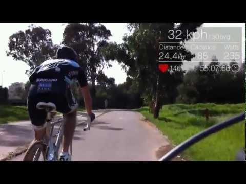 Google Glass Cycling App