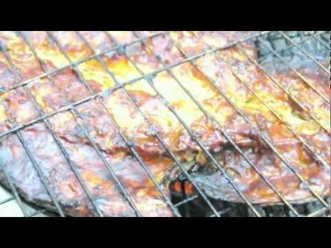 Pargo Zarandeado a las brasas/Fish grilled snapper Zarandeado