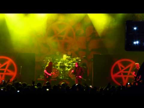 Anthrax - Raining Blood / Madhouse - HSBC Brasil - So Paulo 2013