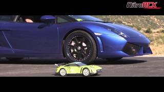 R/C Car vs 550hp Lamborghini Gallardo LP 550-2