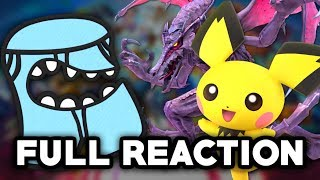 SMASH BROS. ULTIMATE AT E3 REACTION! - Funny Pichu and Ridley SCREAM