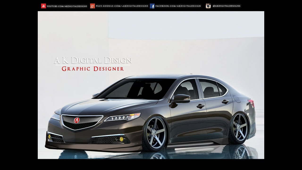 2015 Acura TLX Modified - Slammed / Hellaflush - YouTube