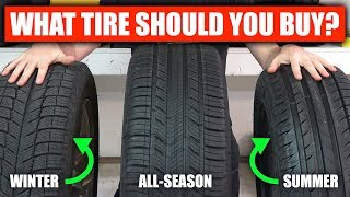 Summer vs Winter vs All Season - What Tires Should You Buy?