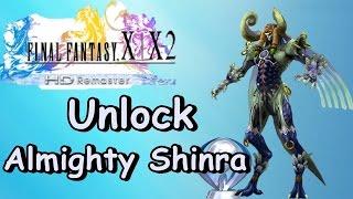 Final Fantasy X-2 HD Remaster - Unlock Almighty Shinra