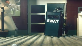 "LEGO stopmotion SWAT brickarm action: ""The Wild Crunch 2"" and YOUR Voice"