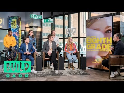 """Bo Burnham And The Cast Of """"Eighth Grade"""" Discuss Their New Film (With Our Pre-Show, The BUILD Up)"""