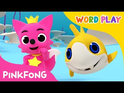 Move Like the Baby Shark   Word Play   Pinkfong Songs for Children