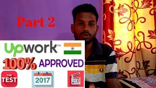Final  Upwork profile approval | Complete profile atleast 70% | Hindi