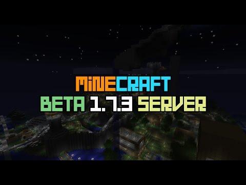 Minecraft - Beta 1.7.3 Server -Trailer | 2018 | Updated |