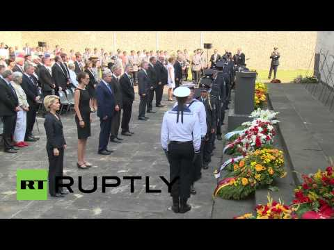 Germany: Operation Valkyrie Hitler assassins honoured
