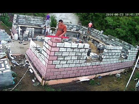 Строительство фундамента домов из блоков своими руками 772