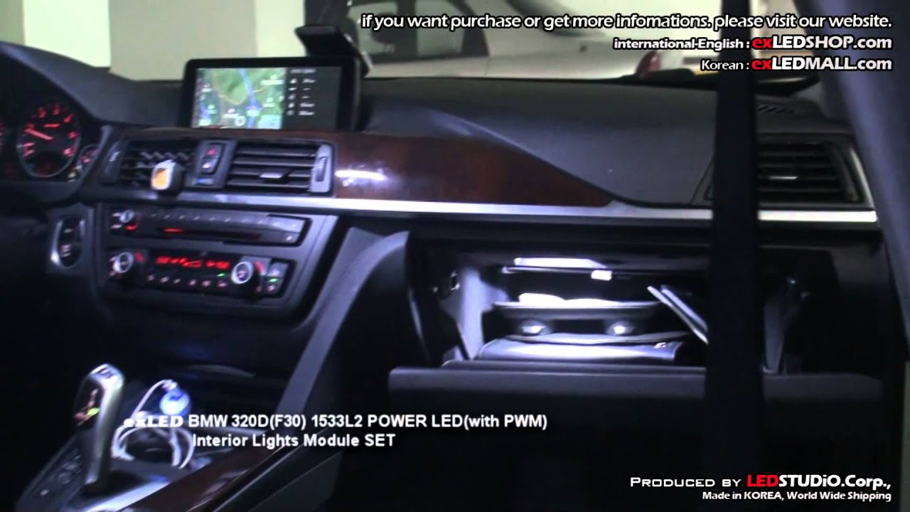 Exled Bmw 320d F30 1533l2 Power Led With Pwm Interior