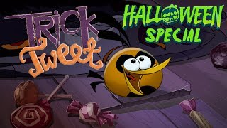 Angry Birds Trick or Tweet - wishing you a Happy Halloween!