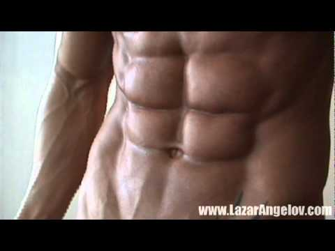 www.LazarAngelov.com THE MOST RIPPED ABS klip izle