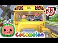 Wheels on the Bus | +More Nursery Rhymes & Kids Songs - CoCoMelon thumbnail