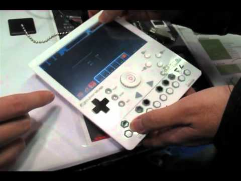 Cyberstep KDJ-One Mobile Audio Workstation prototype