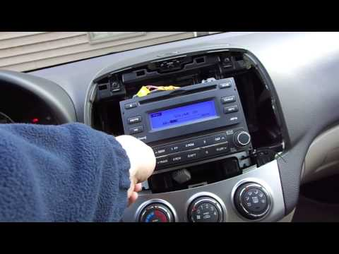Replacement of 2010 Hyundai Elantra Stereo