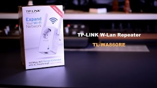 [REVIEW] TP-LINK W-Lan Repeater TL-WA860RE DEUTSCH