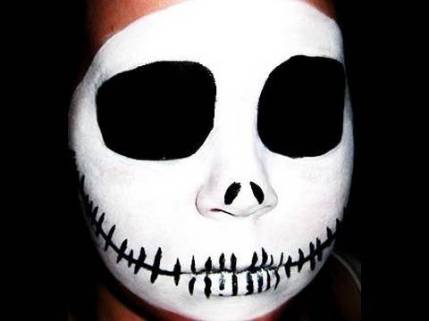 Jack Skellington/ Skull Halloween Makeu