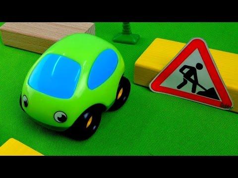 Мультики про машинки - Дорожные работы