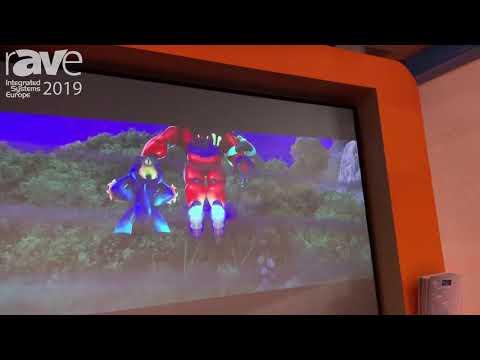 ISE 2019: Screenint Features Leonardo Fixed-Frame Projector Screen