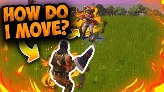 So I Pretended To Be A Noob In Fortnite Squads