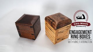Dovetailed Ring Boxes with Mike Farrington in the Boardroom (BIG GIVEAWAY AS WELL)