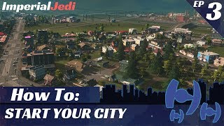 Cities: Skylines - The City's First Park - EP 3