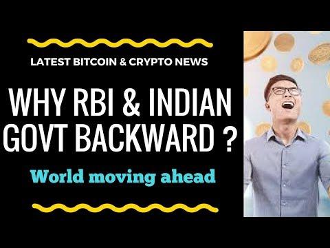 Latest Crypto & Bitcoin News. Why RBI & Indian Govt Backward in Crypto. World Moving ahead fast