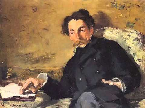 Mallarme by Edouard Manet