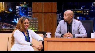 Seifu On EBS TV Show Interview With Ethiopian Famous Singer Abiy Lakew