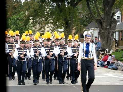 Aquinas High School Band - La Crosse, Wisconsin - 09/20/2010