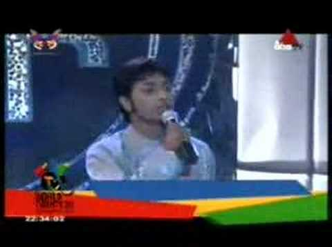Surendra Perera - Obe Lage Inna- Sirasa Super Star Season2 video