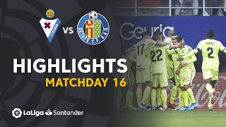 Highlights SD Eibar vs Getafe CF (0-1)