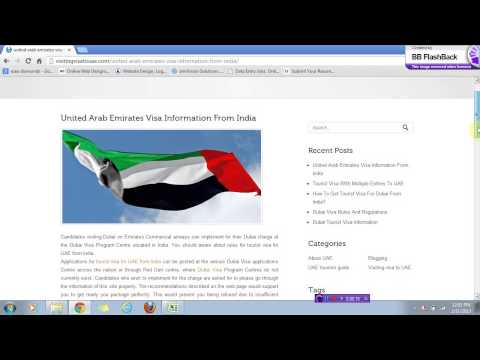 uae visa information from india-visitingvisatouae.com
