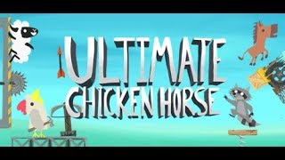 2PurpleSwitchs plays Ultimate chicken horse With Vanacard & Letsplaywithperry & Trickster512