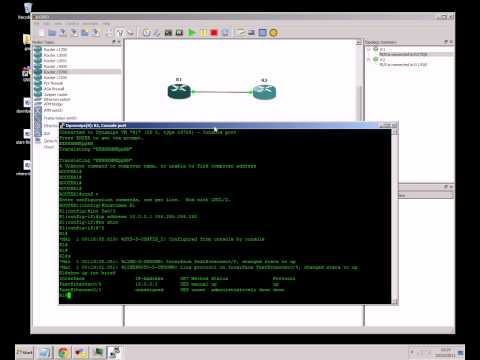How to create a virtual CCNA lab using GNS3