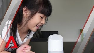 At home with Google Home in Singapore