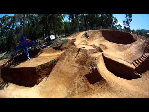 BIG BMX dirt competition in Australia - Red Bull Dirt Pipe 2011