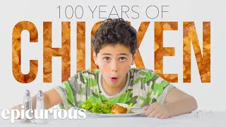 Kids Try 100 Years of Chicken