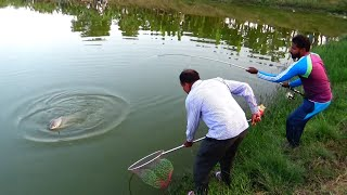 Big Rohu Fishing Videos By Rocky In Ongoing Fishing Event