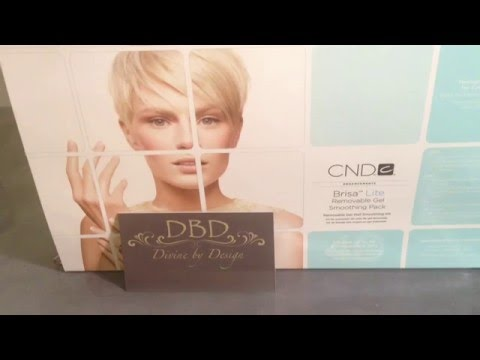 CND Brisa Lite Smoothing Gel Application & First Impressions