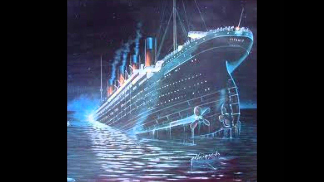 Титаник в поделках