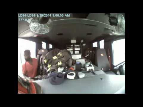 Thief goes through Ind. fire truck