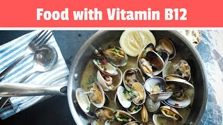 Healthy Food with Vitamin B12: Top 5 Foods Rich in Vitamin B12 (Nutrition Facts)