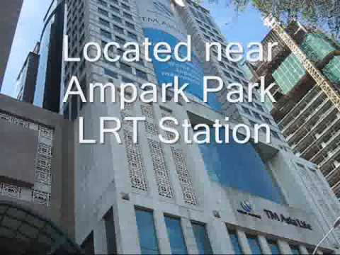 Movie Menara TM Asia Life, Jalan Tun Razak, Office for rent Video