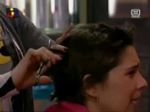 Head shave in tv serial