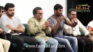 Nadigar Sangam Vishal Pandavar Team Press Meet Part 1