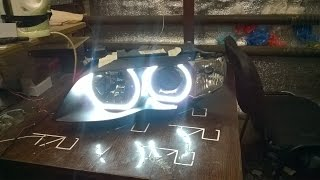 BMW X5 e53 Angel eyes DRL by TAU tech